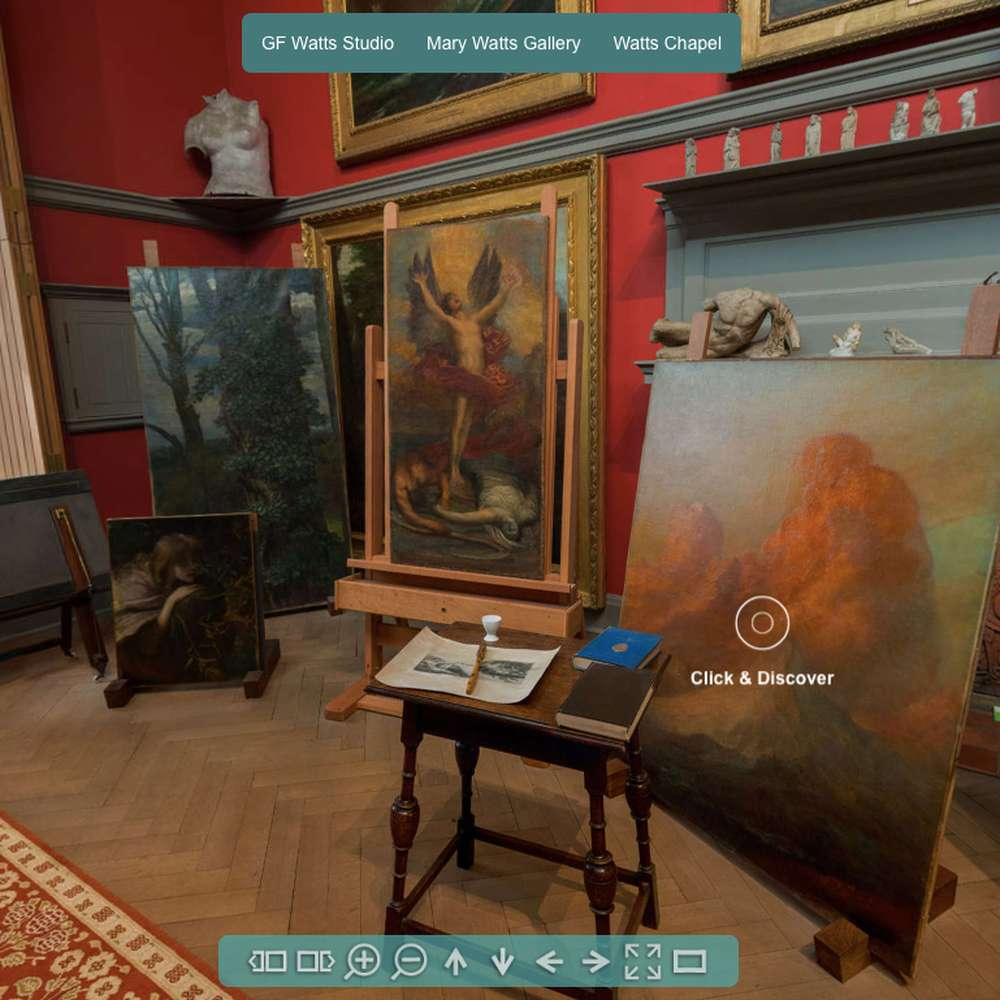 Virtual Tour of Watts Gallery - Artists' Village