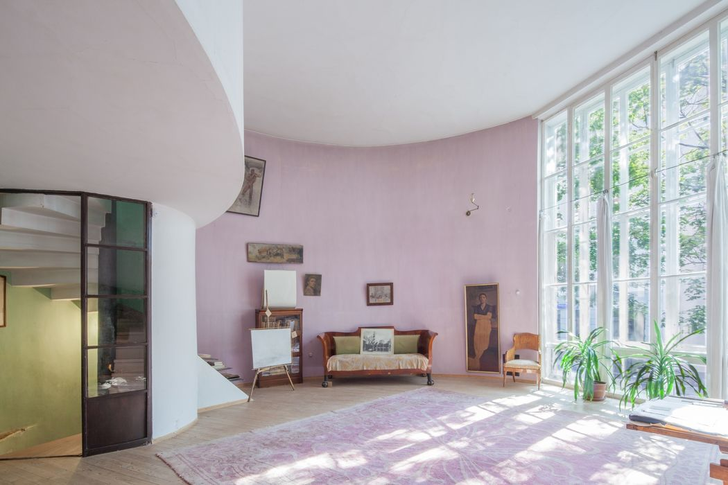 Interior of the Melnikov House, Moscow