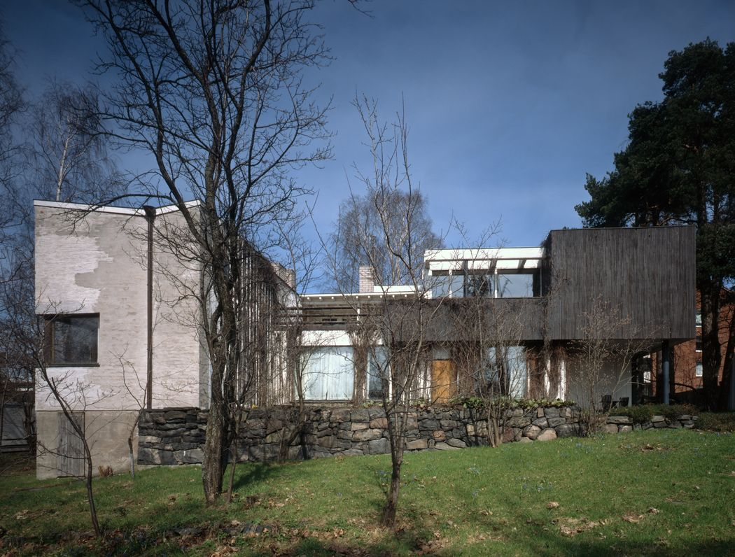 The Aalto House, Riihitie, Finland