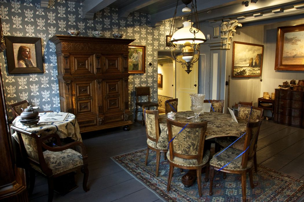 The dining room at Tromp's Huys, Vlieland