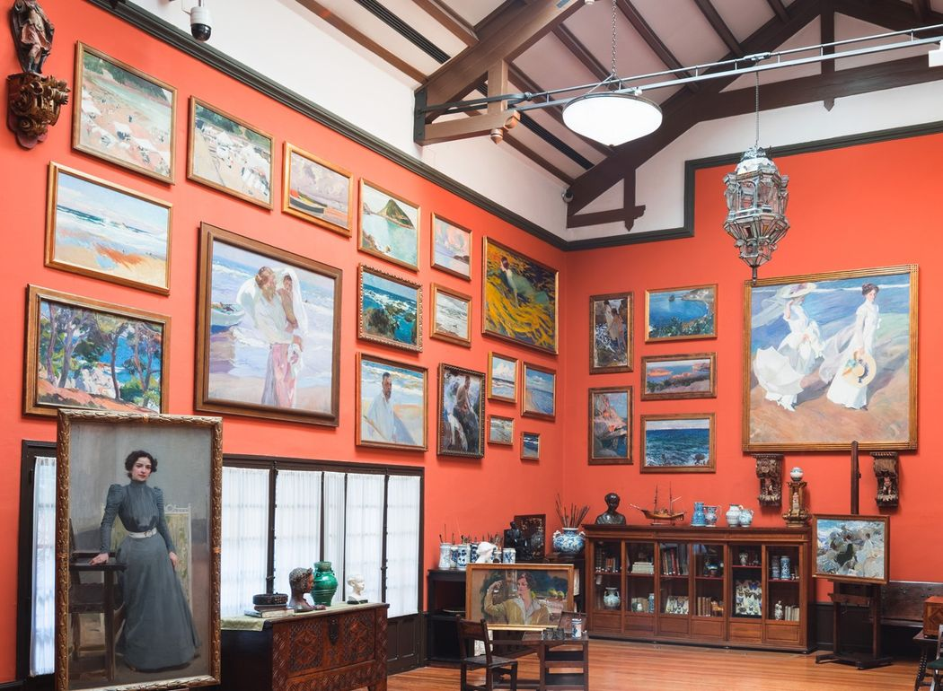 inside the Museo Sorolla